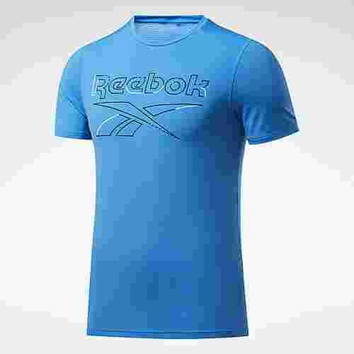 Reebok Workout Ready ACTIVCHILL T-Shirt Funktionsshirt Herren Blau