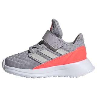 adidas RapidaRun Schuh Laufschuhe Kinder Glory Grey / Grey One / Signal Pink