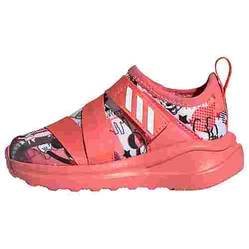 adidas Minnie FortaRun X Schuh Laufschuhe Kinder Cloud White / Semi Flash Red / Core Black