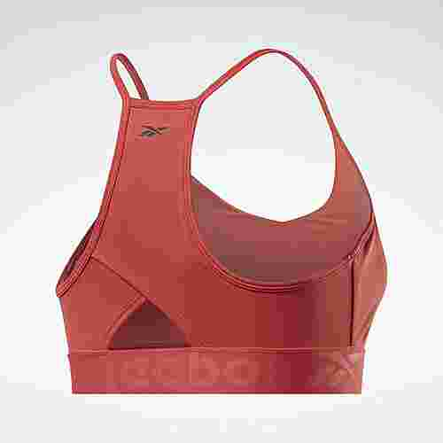 Reebok Strappy Back Low-Impact Bra BH Damen Rot