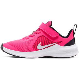 Nike DOWNSHIFTER 10 Laufschuhe Kinder hyper pink-white-black