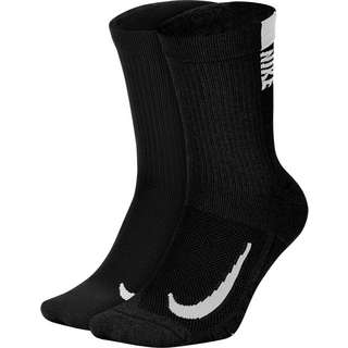 Nike Multiplier Laufsocken black-white