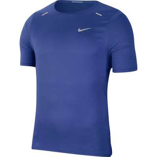 Nike Breath Rise 365 Funktionsshirt Herren astronomy blue-reflective silv