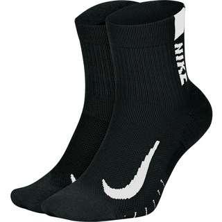 Nike Multiplier Laufsocken black-white