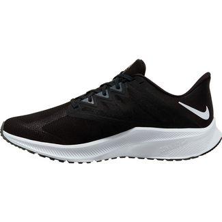 Nike QUEST 3 Laufschuhe Herren black-white-iron grey