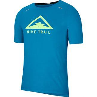 Nike Rise 365 Funktionsshirt Herren laser blue-barely volt