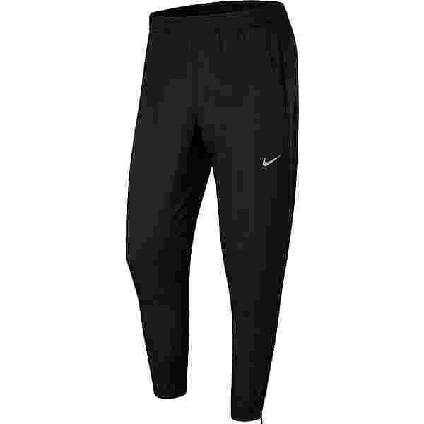 Nike Essential Laufhose Herren black-black-reflective silv