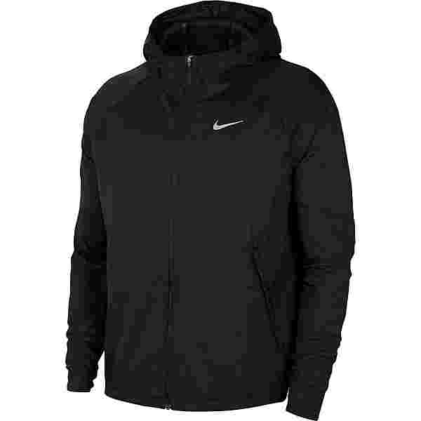 Nike Essential Laufjacke Herren black-reflective silv