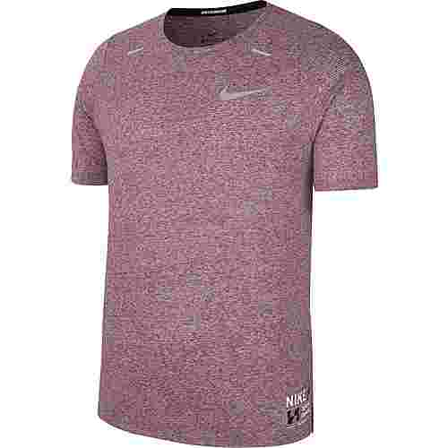 Nike Rise 365 Funktionsshirt Herren multi-color-black-reflective silv