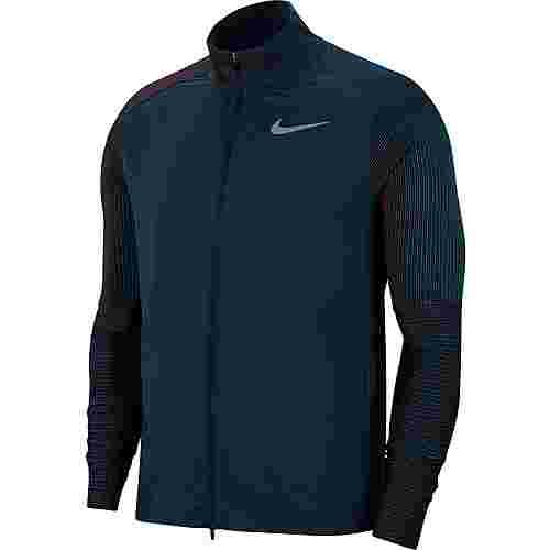 Nike Laufjacke Herren deep ocean-reflective silv