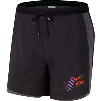 Nike Flex Stride 2 in 1 Funktionsshorts Herren black-reflective
