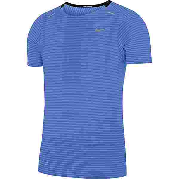 Nike Techknit Funktionsshirt Herren royal pulse-reflective silv