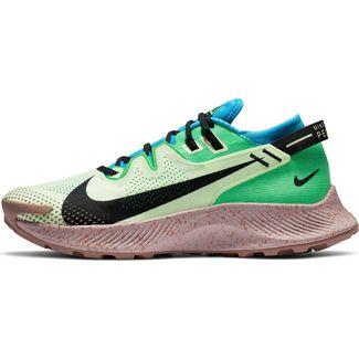 Nike PEGASUS TRAIL 2 Laufschuhe Herren barely volt-black-laser blue