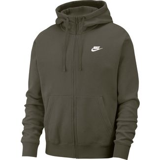 Nike NSW Club Sweatjacke Herren twilight marsh-twilight marsh-white
