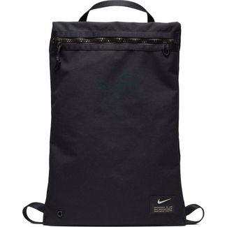Nike Utility Turnbeutel black-black-enigma stone