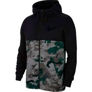 Nike Dry Camo Trainingsjacke Herren black-iron grey-grey fog