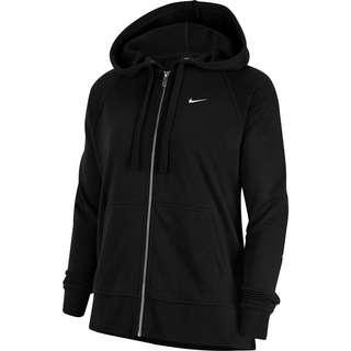 Nike Get Fit Sweatjacke Damen black-white