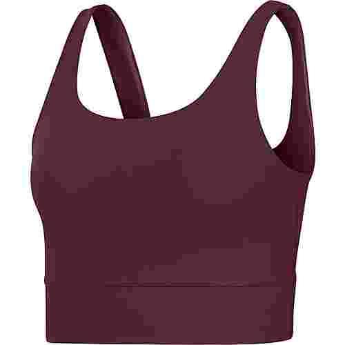 Nike Yoga Croptop Damen night maroon-dark beetroot