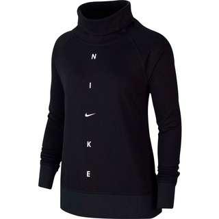 Nike Get Fit Funktionssweatshirt Damen black-white