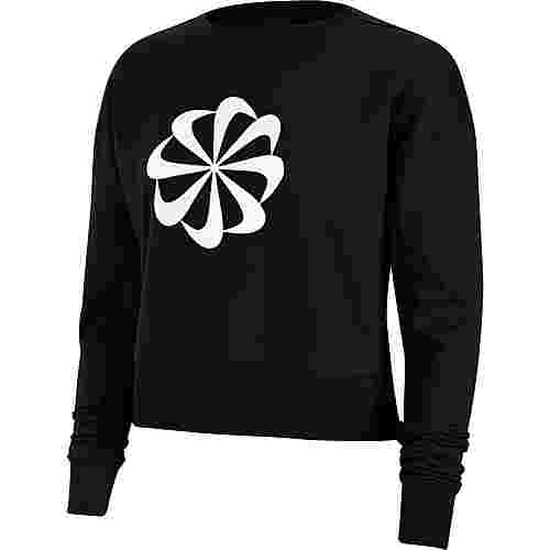 Nike Funktionssweatshirt Damen black-white