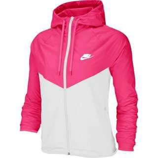 Nike NSW Windbreaker Damen hyper pink-white-white