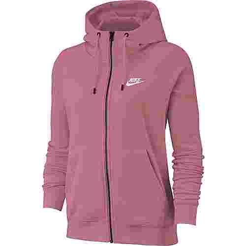 Nike NSW Sweatjacke Damen desert berry-white