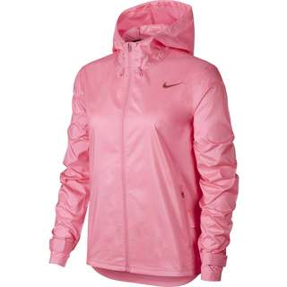 Nike Plus Size Laufjacke Damen pink glow-firewood orange