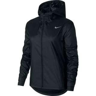 Nike Plus Size Laufjacke Damen black-reflective silv