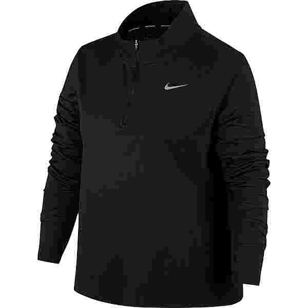 Nike Plus Size Funktionsshirt Damen black-reflective silv