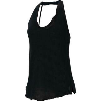 Nike Plus Size Funktionstank Damen black-dk smoke grey