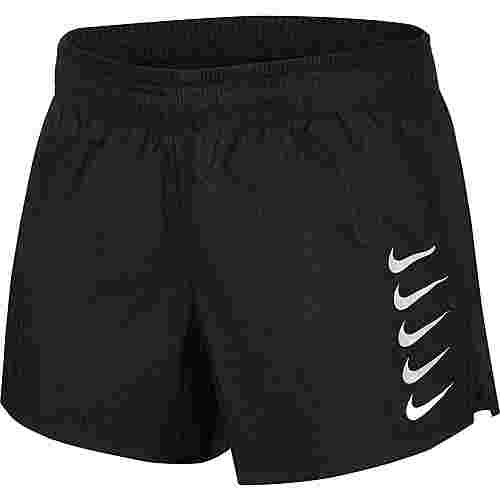Nike Laufshorts Damen black-white