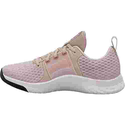 Nike Renew In-Season TR 10 Fitnessschuhe Damen stone mauve-metallic silver-barely rose