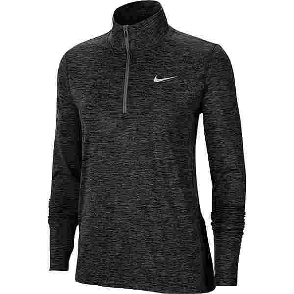 Nike Element Funktionsshirt Damen black-reflective silv