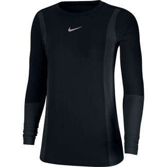 Nike Infinite Funktionsshirt Damen black-reflective silv