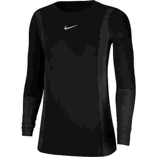 Nike Infinite Funktionsshirt Damen black-reflective silv