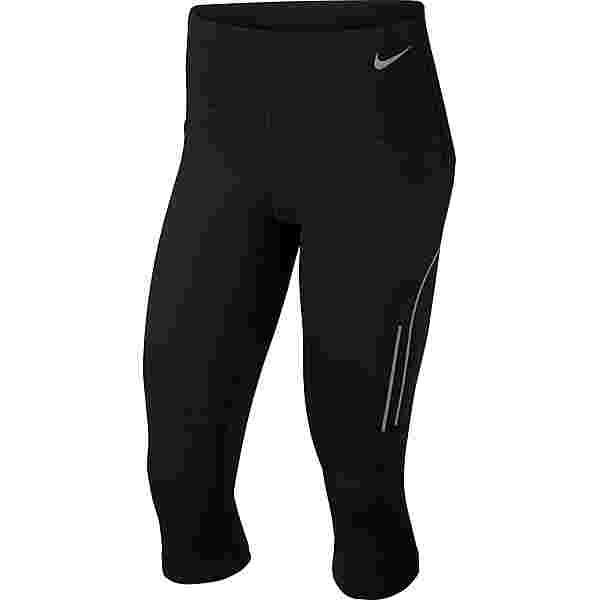 Nike NIKE SPEED Lauftights Damen black-gunsmoke