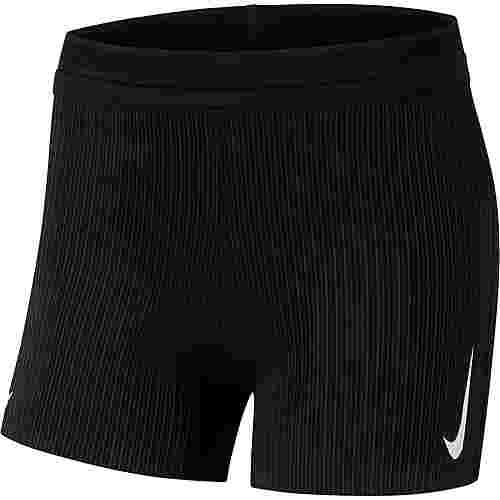 Nike Aeroswift Laufshorts Damen black-white