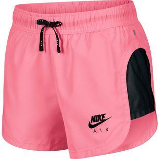 Nike Air Laufshorts Damen pinksicle-black