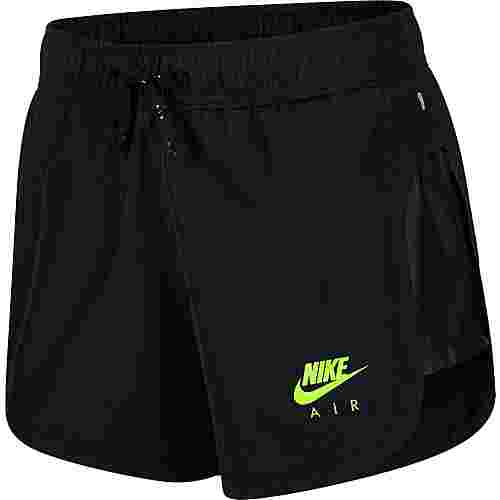 Nike Air Laufshorts Damen black-volt