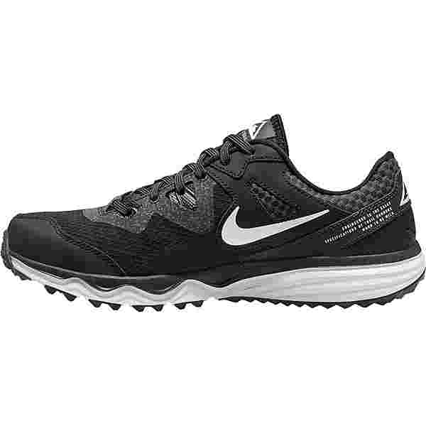 Nike Juniper Trail Laufschuhe Damen black-white-dk smoke grey-grey fog