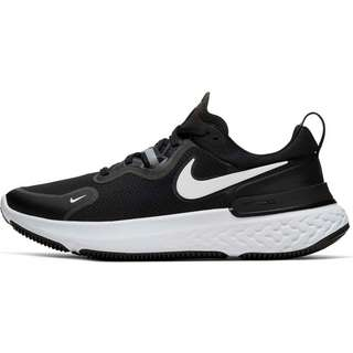 Nike React Miler Laufschuhe Damen black-white-dark grey-anthracite