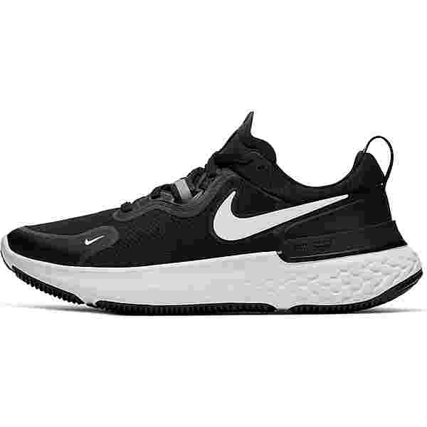 Nike React Miler Laufschuhe Damen black-white-dark grey-anthracite