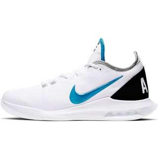 Nike Court Air Max Wildcard Tennisschuhe Herren white-neo turq-grey fog-hot lime