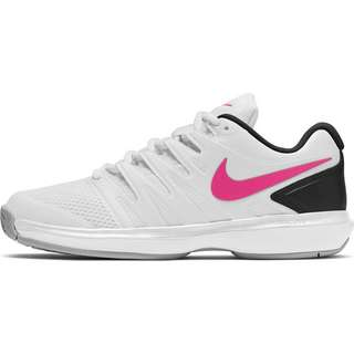 Nike Air Zoom Prestige Tennisschuhe Damen white-laser fuchsia-lt smoke grey-black