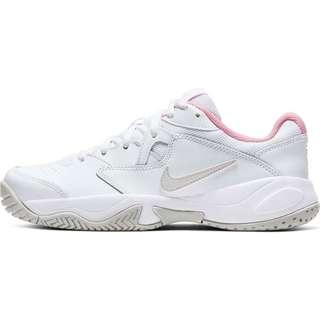 Nike Court Lite 2 Tennisschuhe Damen white-photon dust-pink foam