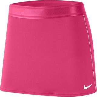 Nike Court Dri-FIT Tennisrock Damen vivid pink-white-white