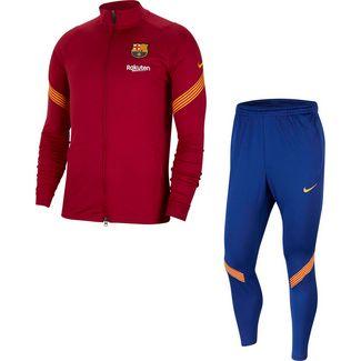 Nike FC Barcelona Trainingsanzug Herren noble red-noble red-amarillo-amarillo