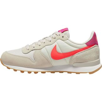 Nike Internationalist Sneaker Damen light bone-flash crimson-cactus flower