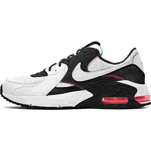 Nike Air Max Excee Sneaker Herren white-white-black-flash crimson
