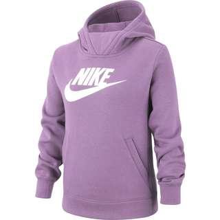 Nike Hoodie Kinder violet star-white